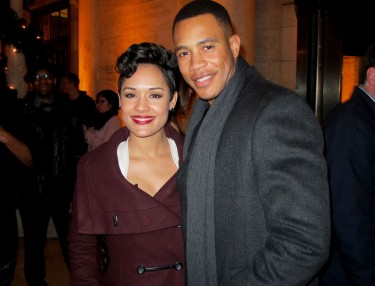 Empire Co-Stars Trai Byers & Grace Gealey