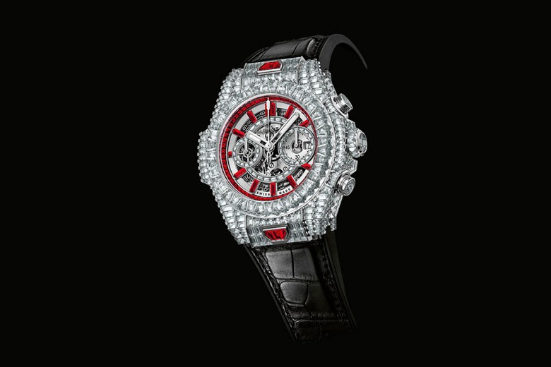 $1 Million Hublot Big Bang '10th Anniversary' Edition