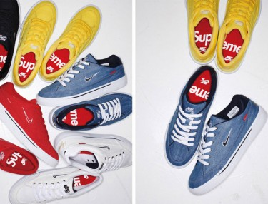 Supreme x Nike SB Spring/Summer 2015 GTS Collection