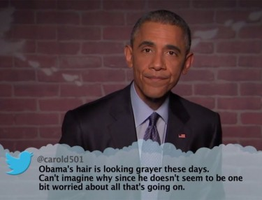 Jimmy Kimmel's Mean Tweets (President Obama Edition)