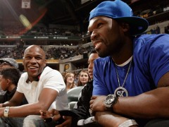 50 Cent & Floyd Mayweather Reconcile