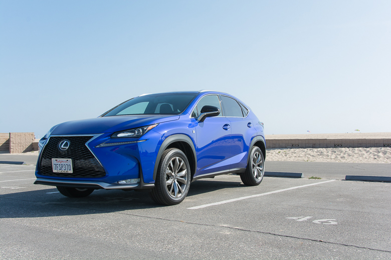 Closer Look At The 2015 NX 200t F SPORT