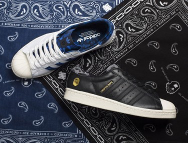 BAPE x UNDEFEATED x adidas Originals Superstar 80s Pack