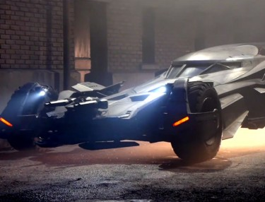 Closer Look At Revamped Batmobile From 'Batman v. Superman'