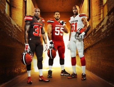 Cleveland Browns, Nike Unveil New Uniforms