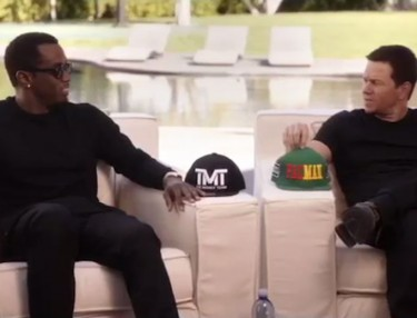 Diddy and Mark Wahlberg