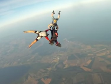 Woah! Watch GoPro Camera's Fall From 10,000 Feet