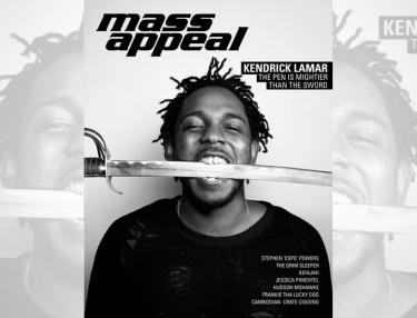 Kendrick Lamar covers Issue #56 of Mass Appeal