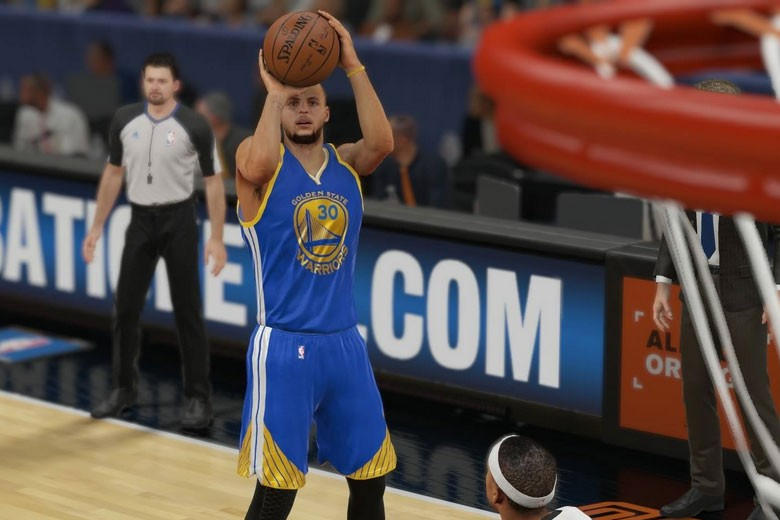 Stephen Curry Stats Nba 2k15