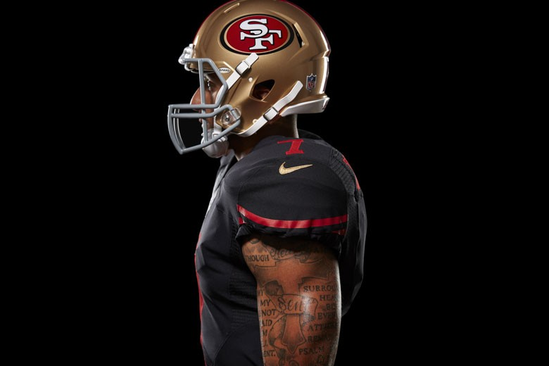 4a8f17c575f The only gold on the new jersey and pants is the Nike logo.