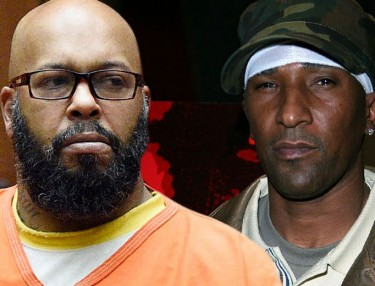 Suge Knight and Cle Sloan