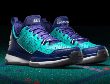 Adidas D Lillard 1 'PDX Carpet' Edition