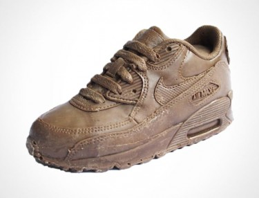 Solid Chocolate Replica Of Nike's Air Max 90
