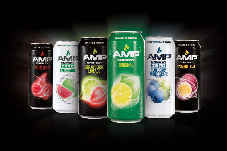 AMP Energy Unveils Four New Flavors