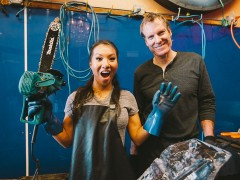 Hobbies With Asa Akira: Ice Carving (Ep. 5)