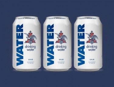 Anheuser-Busch Produces Canned Water For Flood Victims