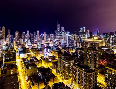 Chicago Timelapse: Windy City Nights II