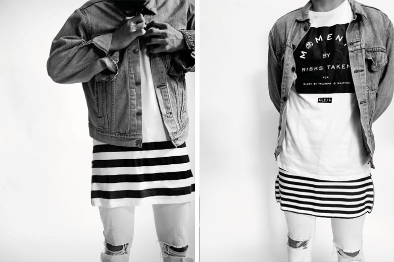 Civil Summer 2015 'Earn Your Stripes' Collection