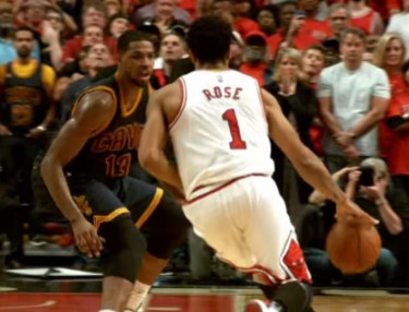 Woah! Watch Derrick Rose's Buzzer Beater To Beat Cavs