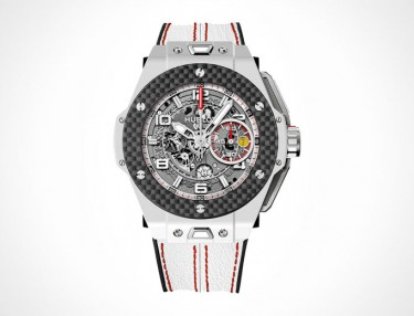 Hublot Big Bang Ferrari White Ceramic Carbon