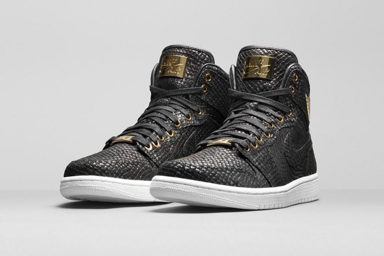 Air Jordan 1 Pinnacle 'Black/Metalic Gold'