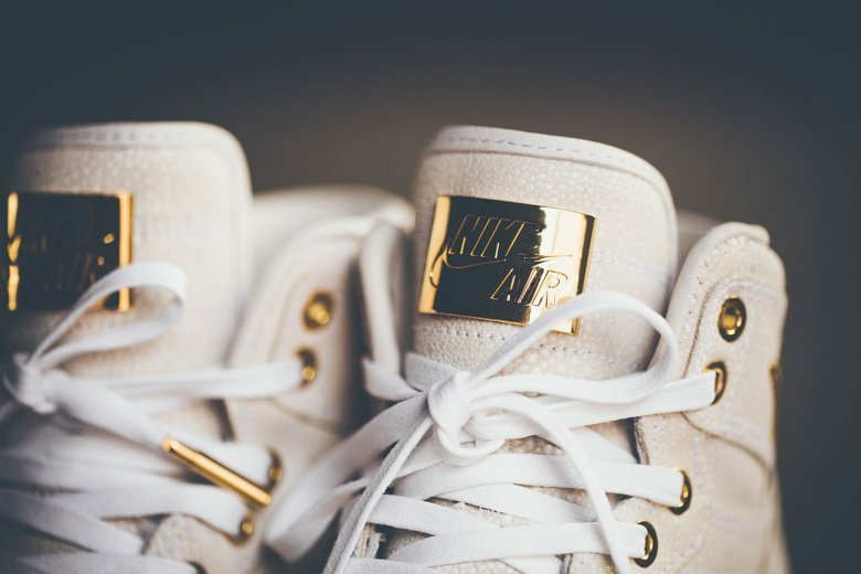 Air Jordan 1 'Pinnacle' Pack With 24K Gold