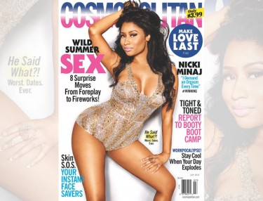 Nicki Minaj - Cosmo July 2015