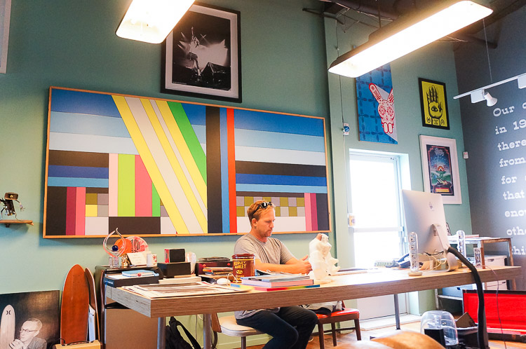 Inside The Hurley Headquarters