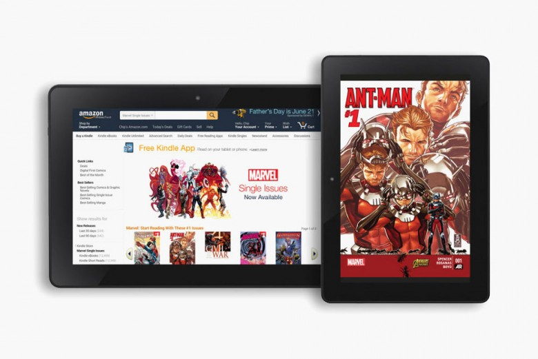 12K Marvel Comics Now Available To Amazon Kindle Users