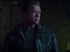 "Arnold Schwarzenegger Talks About Role In ""Terminator Genisys"""