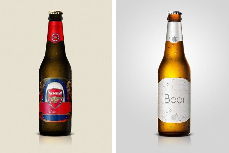 Nike, Facebook & More Reimagined As Beer Brands