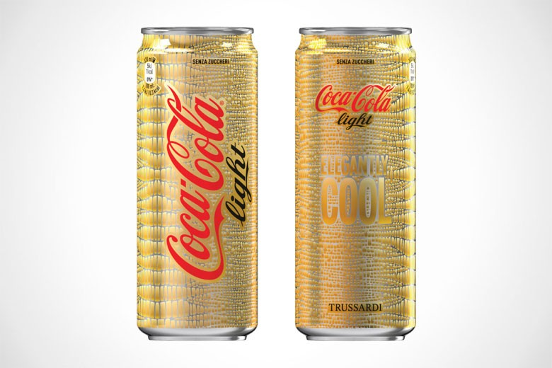 Coca-Cola x Trussardi Limited Edition Cans