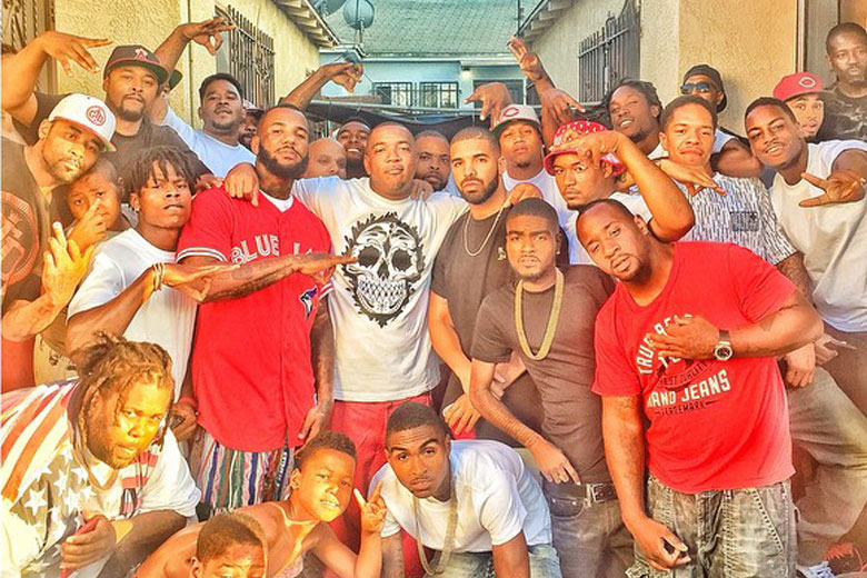Game and Drake in Compton
