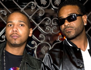Juelz Santana and Jim Jones