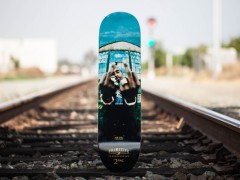 "Mike Miller x Primitive 2pac ""Against The World"" Skate Deck"