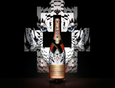 Moët & Chandon x Marcelo Burlon - The Tiger Collection