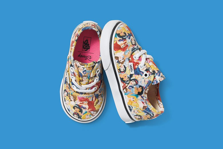 Disney x Vans Princess collection