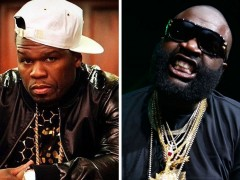 "Rick Ross Disses 50 Cent On New Song, ""Wing Stop Remix"""