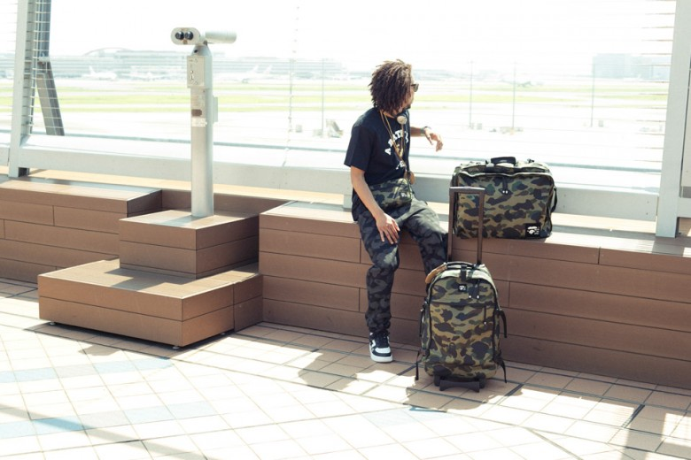 BAPE Summer 2015 'Camo' Luggage Collection