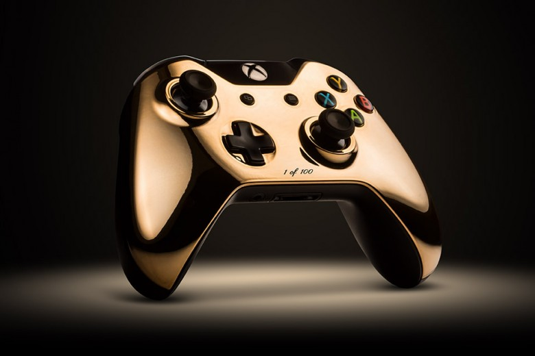 18K Rose Gold Xbox One Controller By Colorware