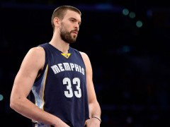 Marc Gasol, Grizzlies Agree On 5-Year, $100 Million Deal