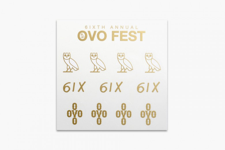 OVO Fest 2015 Official Merchandise
