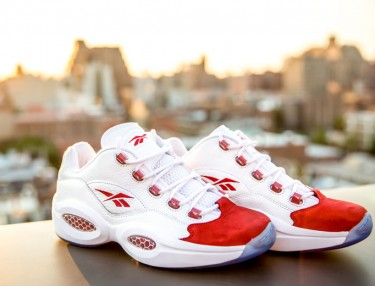 Reebok Question Low Red/White