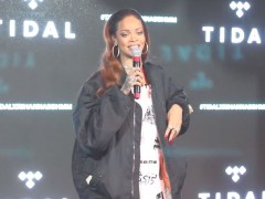 "Rihanna Kidnaps Fans For ""Bitch Better Have My Money"" Screening"