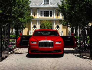Royce Royce Debuts Wraith 'St. James Edition'
