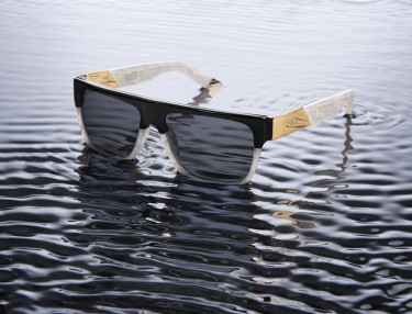 9Five Eyewear 'White Croc Etch' Collection