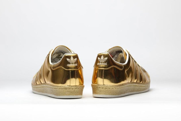 adidas originals superstar 80s metallic gold
