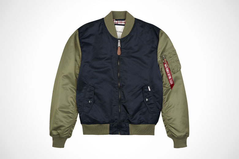 Alpha Industries x Ben Sherman MA-1 Flight Jacket