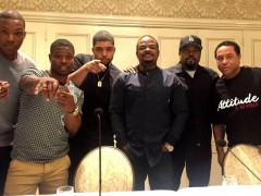 """Q&A: Ice Cube, Cast Talk """"Straight Outta Compton"""", Another """"Friday?"""""""