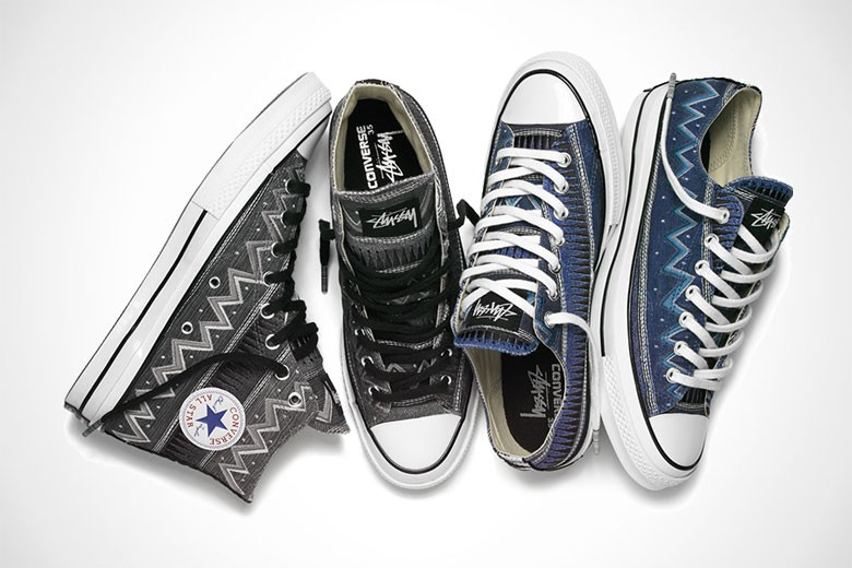 Stussy x Converse Chuck Taylor All Star '70 Pack